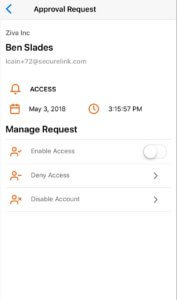 SecureLink | Access Requests